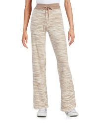 Calvin Klein | Natural Space-dyed Velour Pants | Lyst
