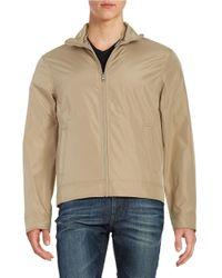 Michael Kors   Natural Convertible Zip-front Jacket for Men   Lyst