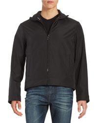 Michael Kors | Black Convertible Zip-front Jacket for Men | Lyst
