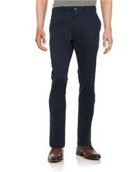 Original Penguin   Blue Slim Stretch Cotton Blend Pants for Men   Lyst