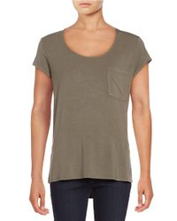 Lord & Taylor | Multicolor Plus Iconic Fit One Pocket Tee | Lyst
