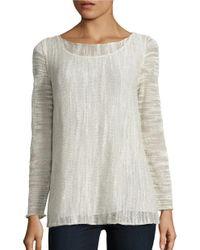 Lafayette 148 New York   Multicolor Glisten Sweater   Lyst