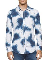 Calvin Klein Jeans | Blue Printed Sportshirt for Men | Lyst