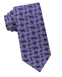 Ted Baker | Blue Pine Paisley Silk Tie for Men | Lyst