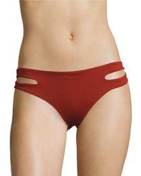 L*Space   Red Estella Bikini Bottom   Lyst