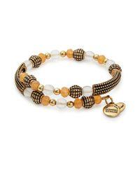 ALEX AND ANI - Metallic Terra Destiny Wrap Bracelet - Lyst