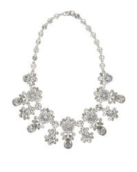 Givenchy   Metallic Drama Swarovski Crystal Collar Necklace   Lyst