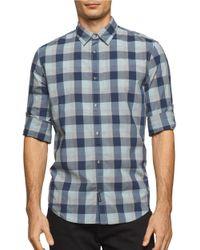 Calvin Klein Jeans | Blue Plaid Sportshirt for Men | Lyst