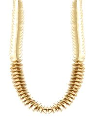House of Harlow 1960 | Metallic Sculptural Link Necklace | Lyst