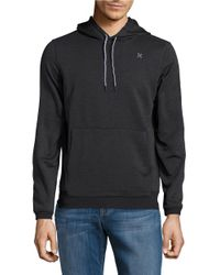 Hurley | Black Dri-fit Hoodie for Men | Lyst