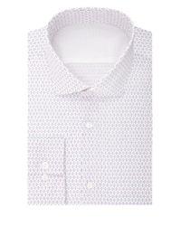 Calvin Klein   Pink Slim Fit Print Dress Shirt for Men   Lyst