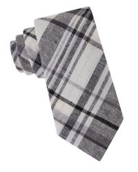 William Rast | Black Plaid Cotton Tie for Men | Lyst