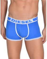 DIESEL | Blue Hero Stretch-cotton Boxer Briefs for Men | Lyst