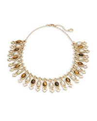 House of Harlow 1960 | Brown Lady Grace Collar Necklace | Lyst
