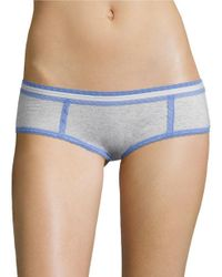 Lord & Taylor | Gray Funfetti Hipster Panties | Lyst