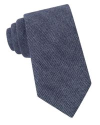 Michael Kors | Blue Peter Striped Silk Blend Tie for Men | Lyst