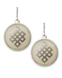 ALEX AND ANI | Metallic Endless Knot Necklace Charm | Lyst