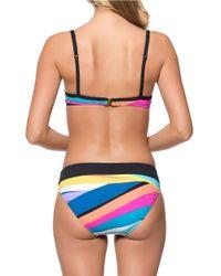 Bleu Rod Beattie - Blue Brighten Up Center Strap Underwire Bikini Top - Lyst