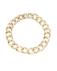 House of Harlow 1960 | Metallic Hammered Chainlink Necklace | Lyst