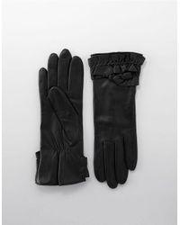 UGG | Black Sheepskin Smart Glove | Lyst
