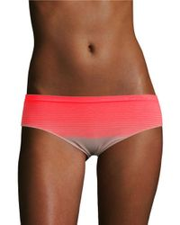 Calvin Klein   Red Striped Hipster Panties   Lyst