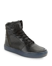 Creative Recreation | Black Adonis Leather High-top Sneakers for Men | Lyst