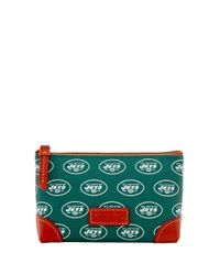 Dooney & Bourke | Green Pebble Continental Clutch | Lyst