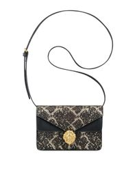 Anne Klein | Black Diana Small Double Flap Crossbody Bag | Lyst
