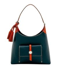 Dooney & Bourke | Blue Cambridge Small Leather Hobo | Lyst