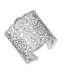 Lucky Brand - Metallic Sugarplum Lace Cuff Bracelet - Lyst