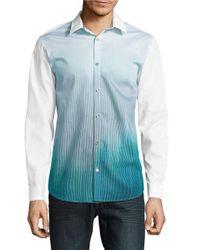 Calvin Klein | Multicolor Ombre Sportshirt for Men | Lyst