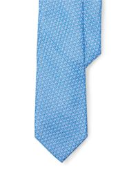 Lauren by Ralph Lauren | Blue Diamond Silk Jacquard Tie for Men | Lyst