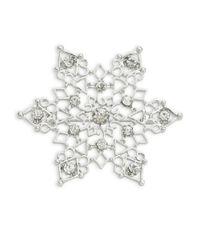R.j. Graziano   Metallic Snowflake Pin   Lyst