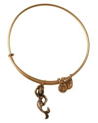 ALEX AND ANI | Metallic Mermaid Charm Bangle Bracelet | Lyst