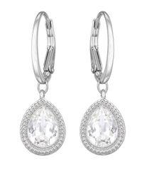 Swarovski | Metallic Aneesa Crystal Drop Earrings | Lyst