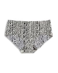 Calvin Klein | Black Invisibles Printed Hipster Panties | Lyst