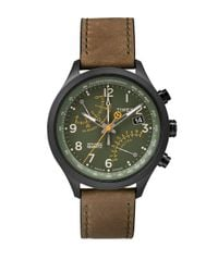 Timex | Green Mens Intelligent Fly Back Chronograph Watch for Men | Lyst