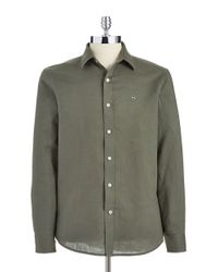 Victorinox | Green Tailored-fit Villamont Sportshirt for Men | Lyst