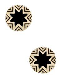 House of Harlow 1960   Black Starburst Studs   Lyst