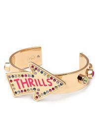 Maria Francesca Pepe | Metallic Thrills Cuff Bracelet | Lyst
