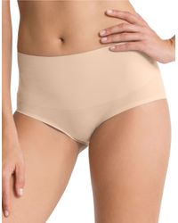 Spanx | Natural Undie-tectable Hi-waist Hipster Panty | Lyst