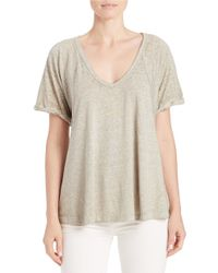 Free People | Multicolor Free Falling Tee | Lyst