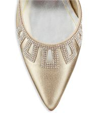 Caparros - Metallic Valuable Pointed Toe Heels - Lyst