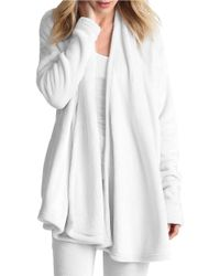 UGG   White Open-front Sweater   Lyst