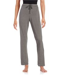 Calvin Klein | Gray Knit Sleep Pants | Lyst