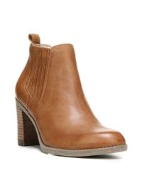 Dr. Scholls | Brown London Leather Ankle Boots | Lyst