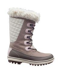 Helly Hansen   Gray Women's Garibaldi Faux Fur-lined Mid-calf Snow Boots   Lyst