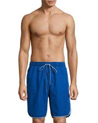 Calvin Klein | Blue Valley Sport Shorts for Men | Lyst