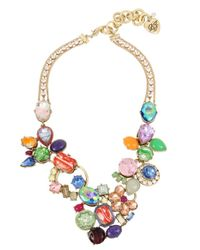 Betsey Johnson - Multicolor Brooklyn Multi-colored Necklace - Lyst
