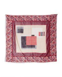 Weekend by Maxmara - Multicolor Nervoso Wool Scarf - Lyst
